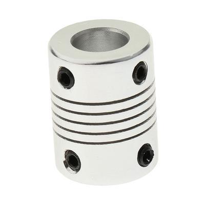 Aluminium 5 Mm*8mm**25 Mm 3D Printer Parts Shaft Flexible Couplings Hardware