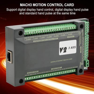 3 Axis NVEM CNC Controller Ethernet MACH3 Motion Control Card for