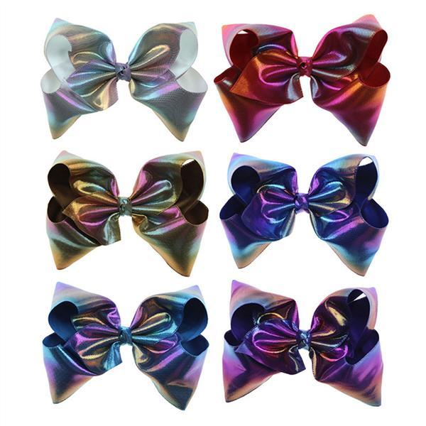 Girls Romany Burgundy School Uniform Diamante Crystal Hair Bow Bobble Party Bow