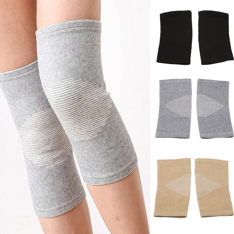 1Pair колено рукава поддержка для совместной боли артрит амприт помощь для управления запуском фото