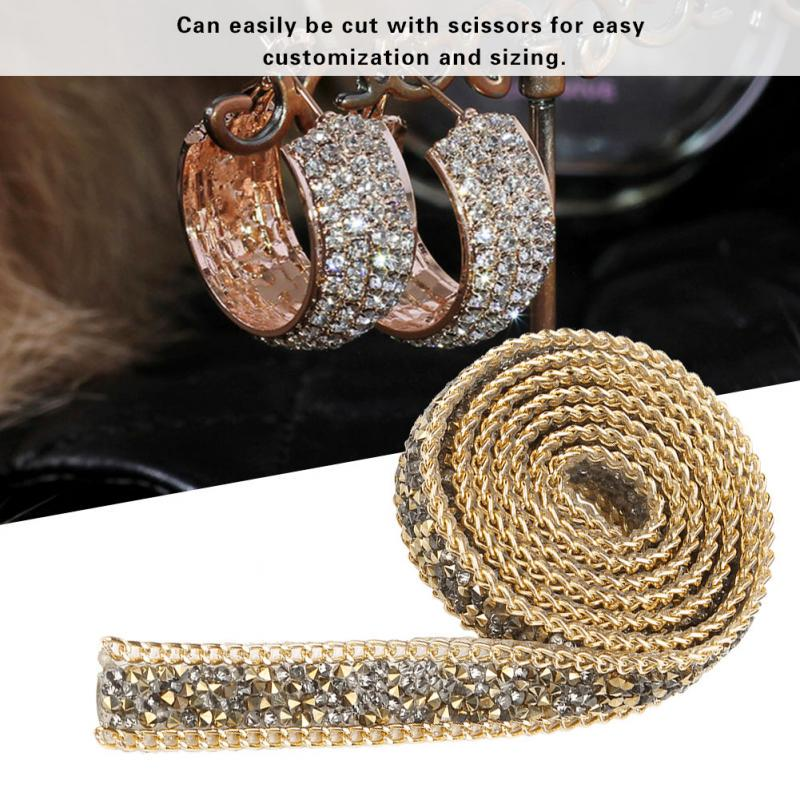 90cm//Roll Ribbon Bling Diamond Mesh Wrap Tapes Tulle Crystal Wedding Xmas Decor