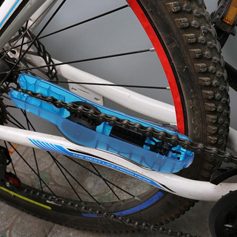 MagiDeal Dummy Hub Bicicleta Cadena Titular Cadena Lavado Limpieza Herramienta Rueda