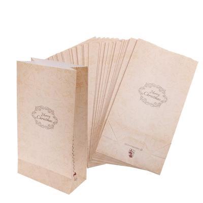 8a239389c Pack de 30pcs papel bolsa bolsa caramelo galleta y regalo en el tema de la  Navidad