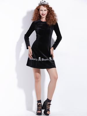 c31c8bd0db3 Rosetic женщин готический Винтаж черный секси платье – купить по ...