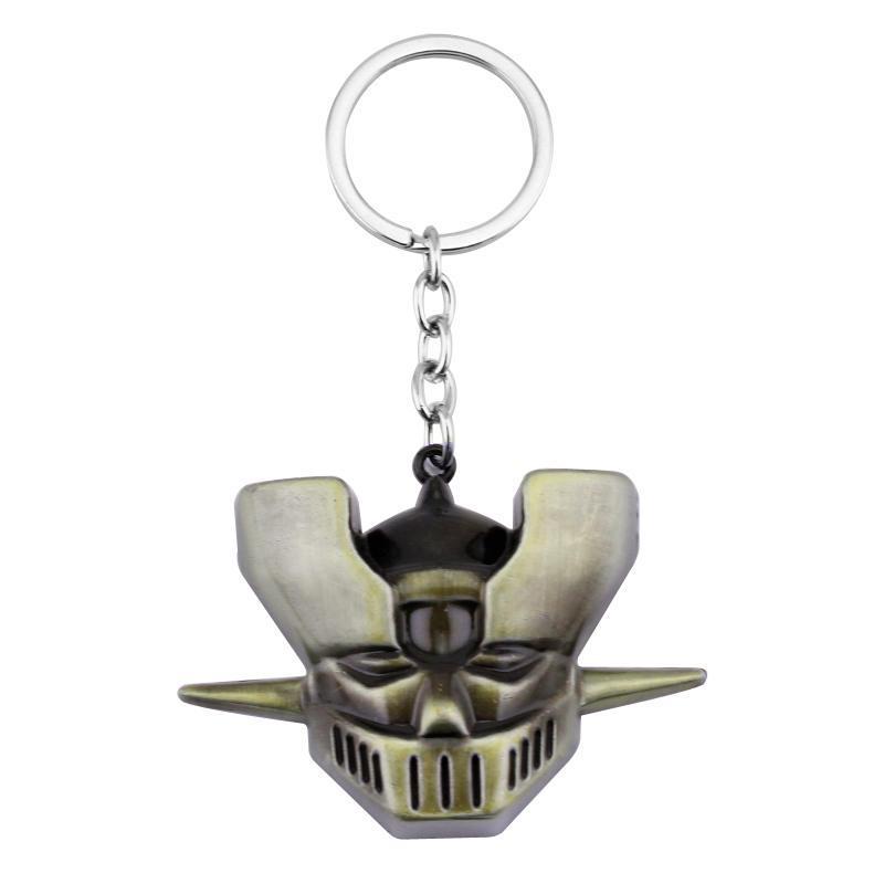 Anime Mazinger Z Alloy Key Chains Keychain Keyfob Keyring