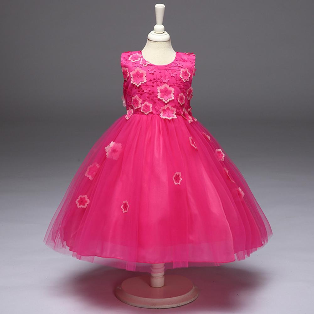 Estilo bohemio desfile vestidos niñas cumpleaños vestidos de fiesta ...