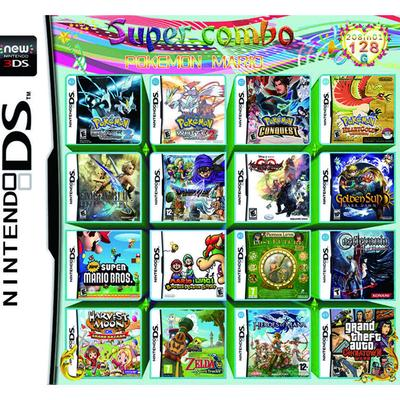 208 In 1 Games Game Multi Cartridge for Nintendo DS NDS 3DS