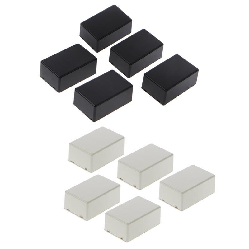 1x New Plastic Electronic Project Box Enclosure Instrument case DIY 100x60x25mm