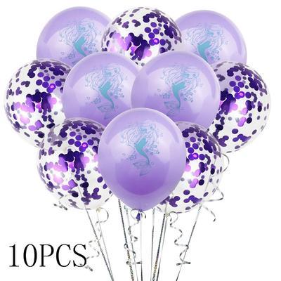Beautiful Mermaid balloons Birthday Party Decor Kids Wedding Christmas SupplyJKU