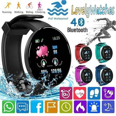 D18S 1.44in Smart Watch Sleep Monitoring Fitness-Tracker Waterproof Bracelet