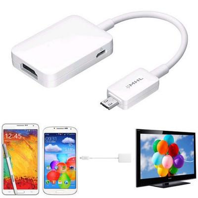 HDTV HDMI MHL Adapter for Samsung Galaxy S4 S3 Note 2 1080P Tab 3