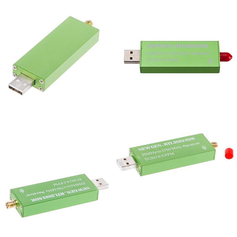 R820T2 1Ppm TCXO Tuner Stick Receiver RTL-SDR USB Dongle RTL2832U
