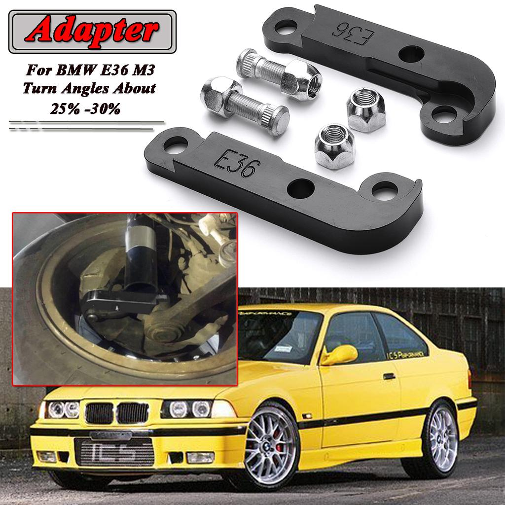 Black For Bmw E36 M3 Adapter Increasing Turn Angles About 25 30 Drift Lock Kit Buy At A Low Prices On Joom E Commerce Platform