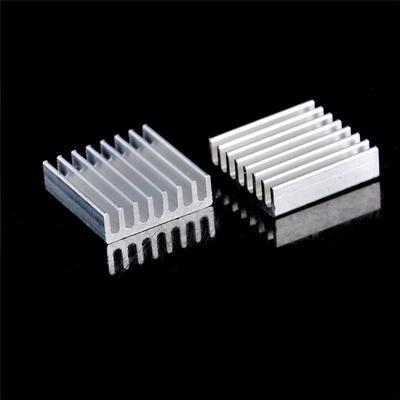 10Pcs 20mm x 20mm x 6mm Aluminum Heatsink For IC MOSFET SCR