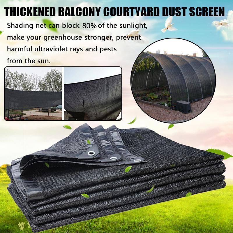 Outdoor Garden Sunscreen Cloth Shade Cover Car Sunblock Anti-UV Sunshade Net USA