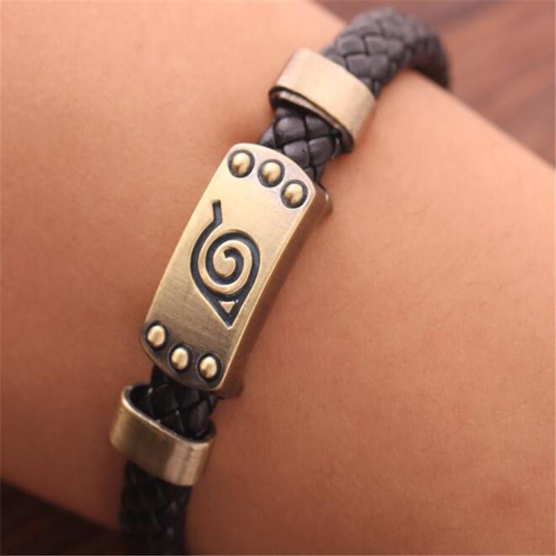 Retro Collectible Bracelet Attack On  Anime Cosplay Leather Bracelets
