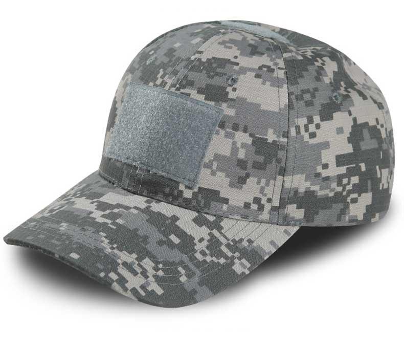 AirSoft Paintballing Woodland Camo Hat Outdoor Activities Trucker Cap