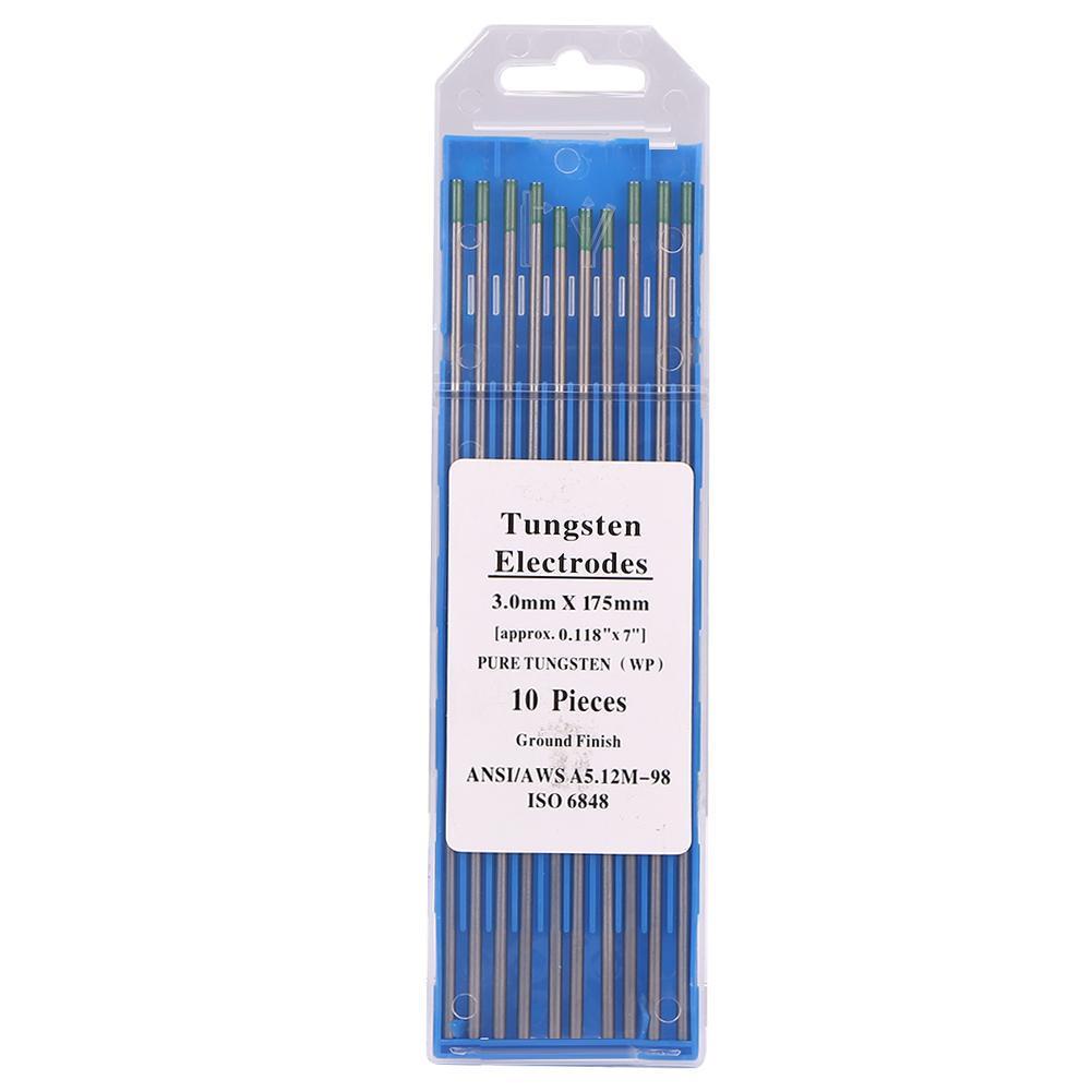 10pcs Lanthanated Tungsten Electrode TIG Welding Argon Arc 3//32 Accessories Kit