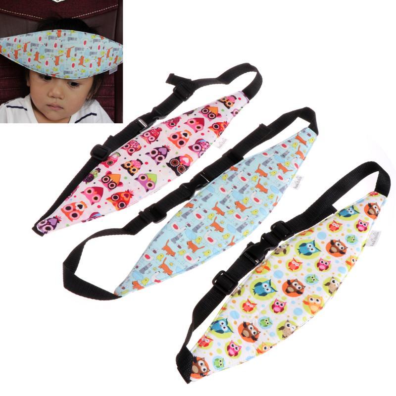 Safety Car Seat Sleep Nap Aid Baby Kids Head Fasten Support Holder Protect Belt