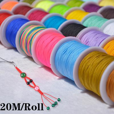 20M Strong Elastic Stretchy Beading Thread Cord Bracelet String for Jewelry Making