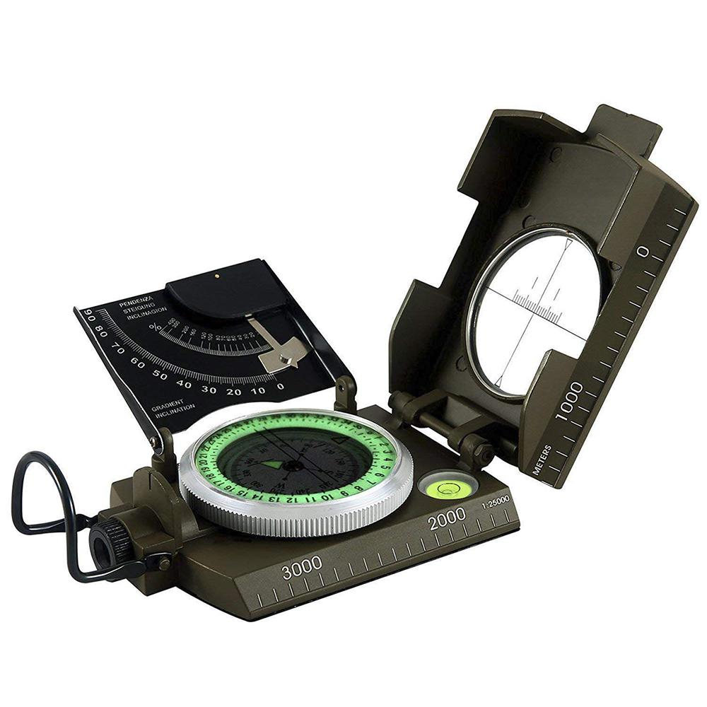 METAL COMPASS 1:25000 METERS Military Navigation