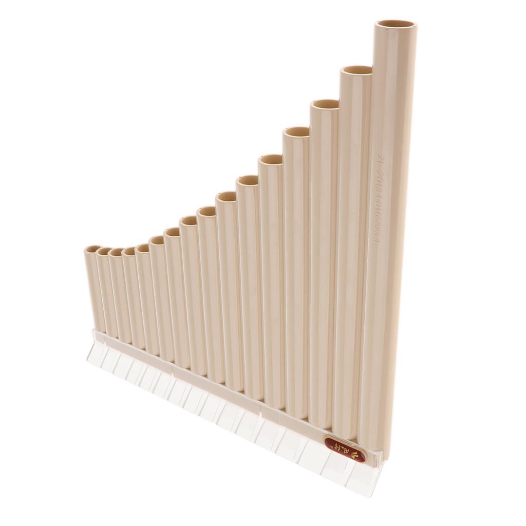 16 Rohre Musik Instrument Panpipe Panflöte Anfänger Pan Flöte Musikinstrument