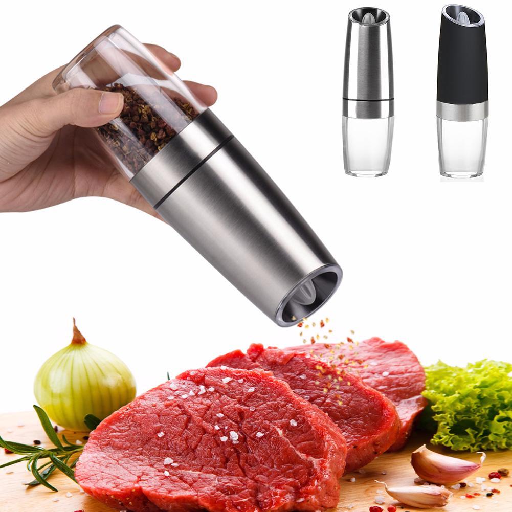 10/'/' Salt Pepper Grinder Seasoning Mill Wooden Handheld Cooking Kitchen
