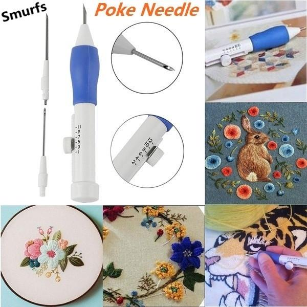 Magic Embroidery Pen Embroidery Needle Weaving Embroidery Tool Fancy LD