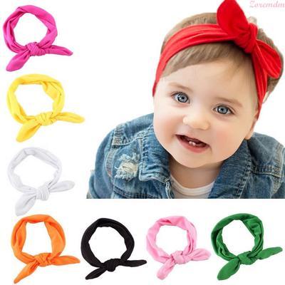 Baby Kid Newborn Bow Turbon Knot Headband Hair Band Hairband Headdress Gifts