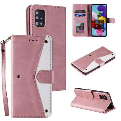 Rivet Design Wallet Matte PU Leather Phone Case Bag For iPhone Samsung Xiaomi Huawei Full Body Protective Back Cover