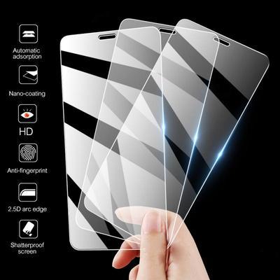 Glass Screen Protector Tempered Glass For Huawei Honor 9A P Smart 2020 Xiaomi Redmi 9A Note8 Pro Redmi Note 10 Pro Poco F3 Mi 10T Lite Samsung S20 FE
