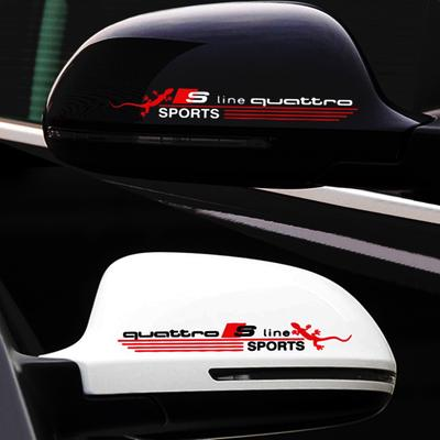 10x Audi Sline Panneau De Contrôle Boutons Décoratif Autocollant Badge Interior S LINE LOGO