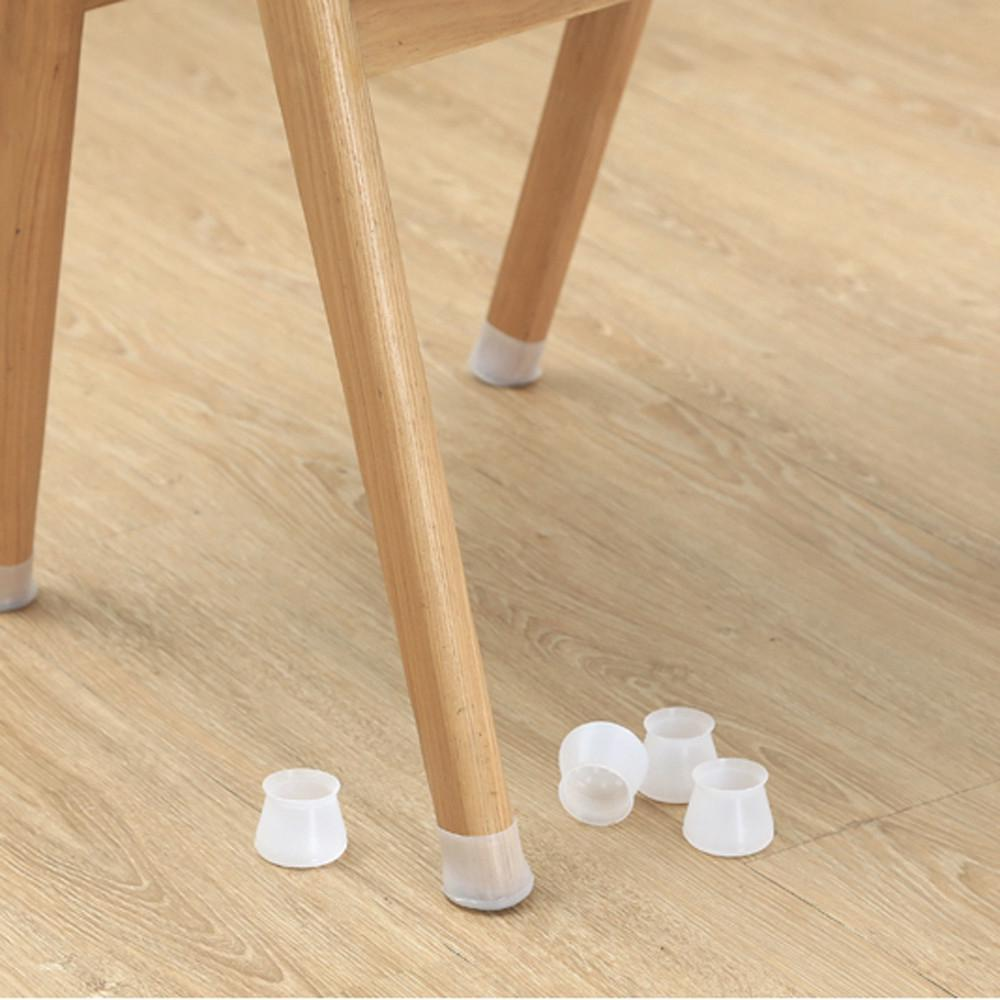 Pack Furniture Table Chair Leg Floor Feet Cap Cover Protectors Stool Mute Mat Useful 4Pcs