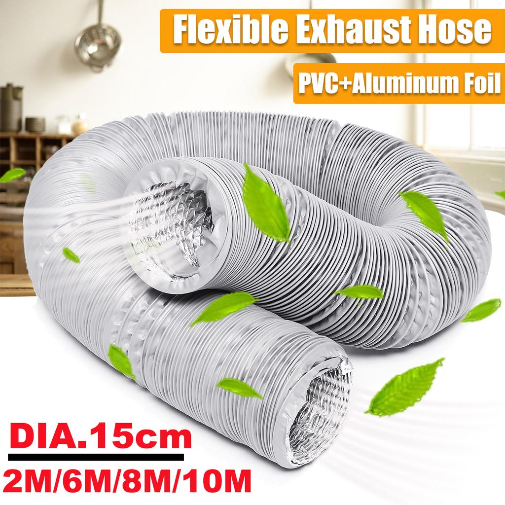 "24/"" Portable Air Flex Ducting Hose x 25 ft Chiller//Blower//Exhaust//Vent"