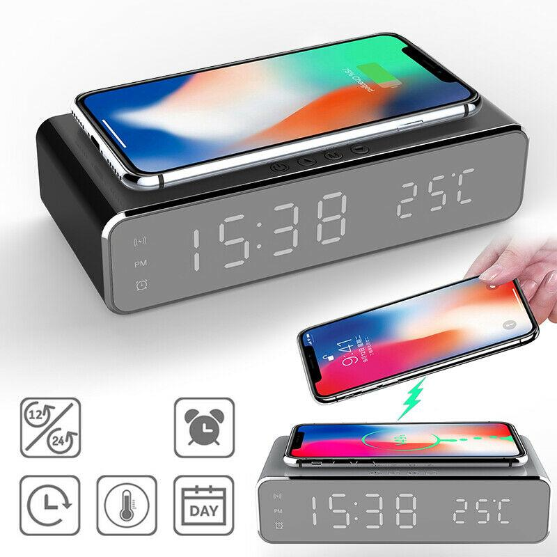 New Arrival Led Luminous Digital Alarm Clock With Thermometer Desktop Electric Clock Bedroom Clock Buy From 17 On Joom E Commerce Platform