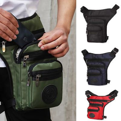 Mens  Bags Tactical Motorcycle Riding Hip  Pack Waist Thigh  Bag
