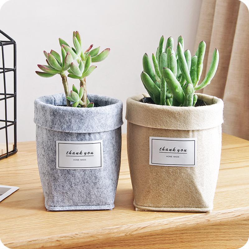 Plant Flower Pot Succulent Planter Desktop Sundries Holder Box Square//Rectangle