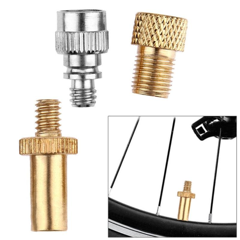 Great fo H1 Brass Pump Adaptor Presta Valves Converter Schrader Valves Adapter