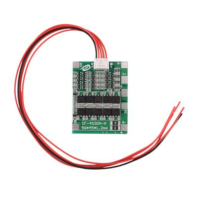4S 30A PCB Protection Board For 18650 Li-ion Lithium Battery w