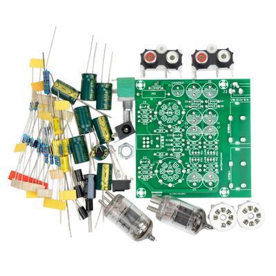 Tube Amplifiers Audio Board Amplifier Pre-Amp Audio Mixer 6J1 Valve Preamp  Bile Buffer Diy Kits