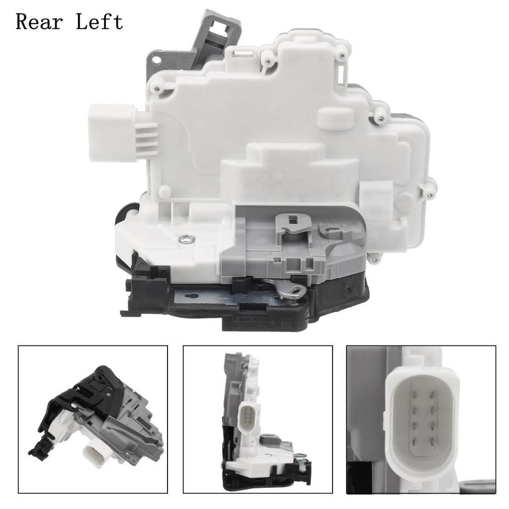 Front Right Door Lock Actuator Mechanism 7 Pin for VW Beetle 2012-2016