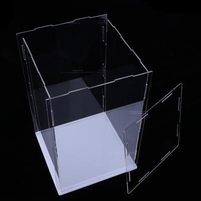 Acrylic Dustproof Display Case Show Box 25x25x25cm for Diecast Car Model Toy