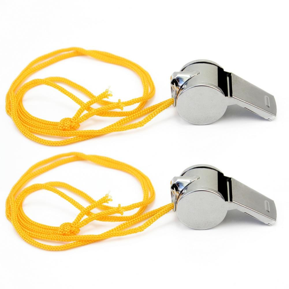 REFEREE/'S SPORTS WHISTLE KEYRING SCHOOL TEACHER PE FOOTBALL RUGBY PARTY New AMQ