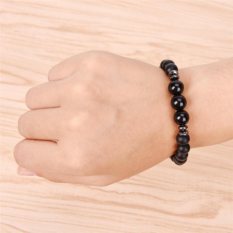 Classic Bracelet Crystal Bracelet Minimalist Bracelet Elastic Bracelet Adjustable Boho Chic Bracelet Agate Bracelet Beaded Bracelet