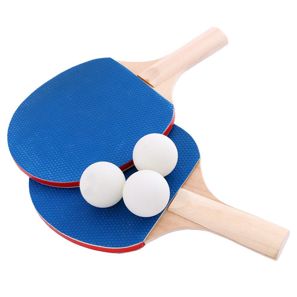 2 Bats Instant Table Tennis Kit Ping Pong Set Retractable Net Rack 6 Balls