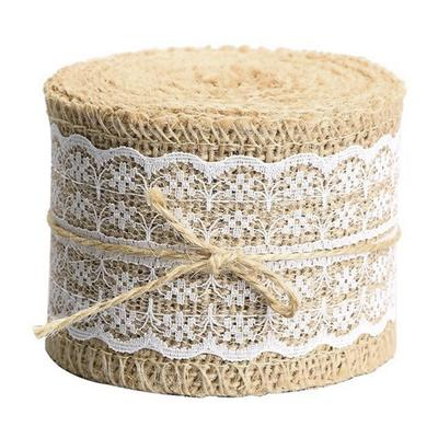 1m 3m 5m Linen Ribbon Natural Trim Rustic Wedding Linen Trim 7-40mm