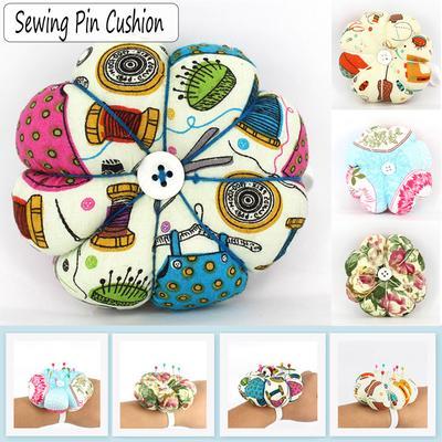 Flower Needle Pincushion Wrist Pillow Pin Holder Insertion Sewing Machine Supply