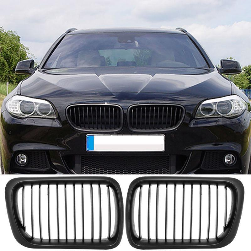 Chrome Black Front Bumper Kidney Grill Grille For BMW 3 Series E36 M3 1997-1999