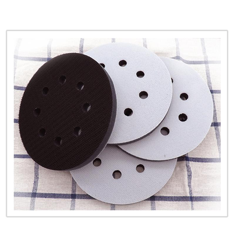 5 8 Holes Refined Soft Interface Sanding Polishing Disc Protective Backing Pads