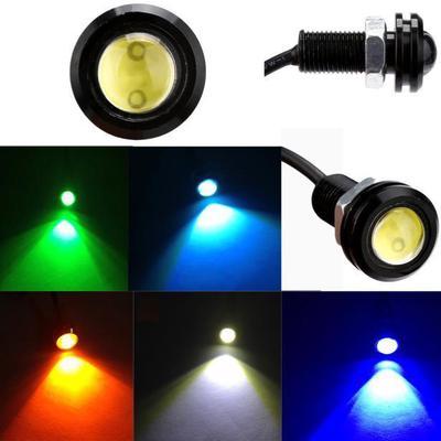 2pcs White DC12V 18W Eagle Eye LED Daytime Running DRL Backup Light Auto Lamp